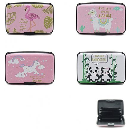 Flamingo/Unicorn/Llama/Panda Card Holders
