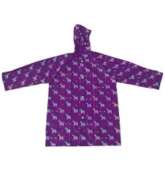 A colourful and cute unicorn design poncho. A must have for kids who love unicorns!