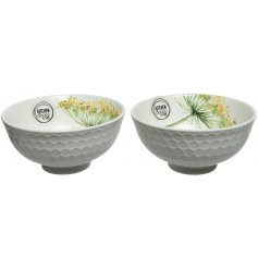 Introduce a Spring Fling to your dining table and kitchen space with this beautiful assortment of Porcelain Bowls