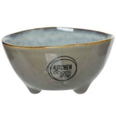 Bring a Natural touch to any kitchen setting with this Two Tone Stoneware Bowl
