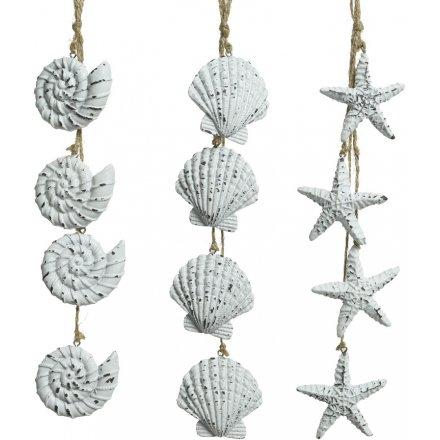 Hanging Seashell Decorations