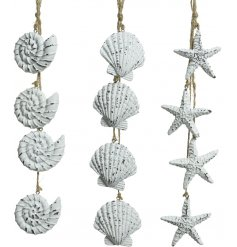 Bring a Coastal Charm to any home interior or garden decor with this chic assortment hanging decorations