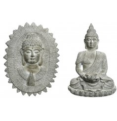 Bring a Zen and calmed sense to your home interior with this chic assortment of hanging wall decorations
