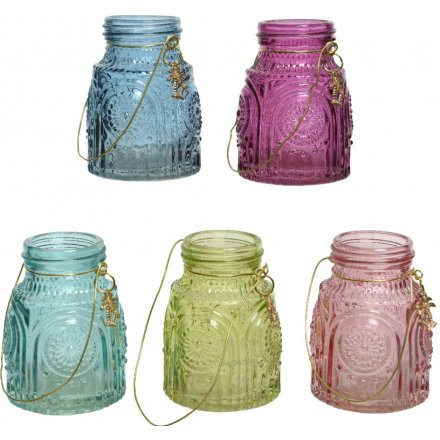 Tropical Glass Lanterns, 5a