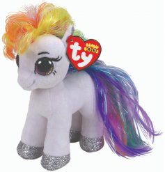 A mystical and magical unicorn soft toy from the wonderful world of TY