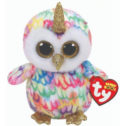 Beanie Boo Soft Toy - Enchanted Uni-owl