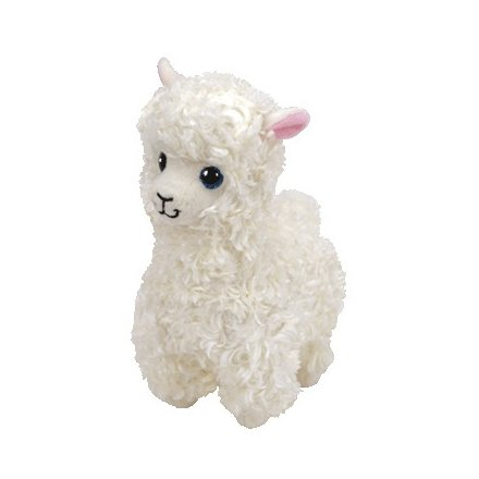 Beanie Baby Soft Toy - Lily Alpaca