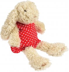 super soft to the touch , Daisy Bunny will make a wonderful friend for any little ones