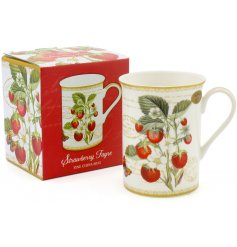 A beautifully decorated Fine China Mug, set with a matching giftbox. Perfect for gift giving occasions