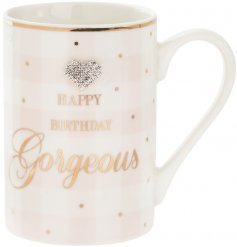 A beautifully decorated mug from the delightful range of Mad Dots.