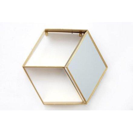 Diamond Mirror Hexagonal Unit