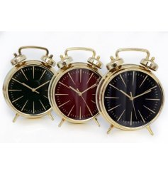 Bring a Modern Luxe edge to any interior with this sleek assortment of electroplated wall clocks