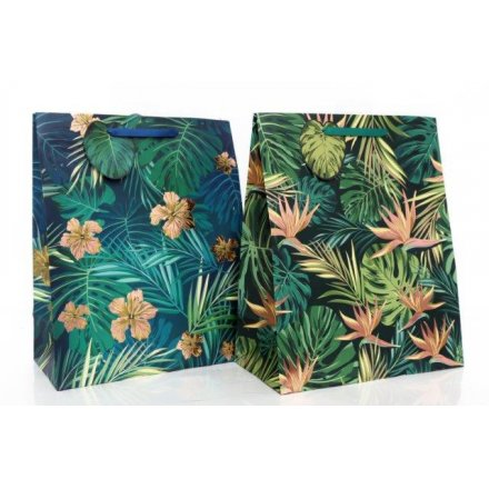Golden Leaf Large Gift Bags