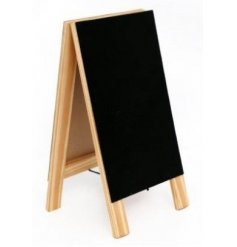 Wooden Chalkboard, 31cm   A Mini Standing Chalkboard with a natural wooden framing