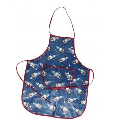 Let your little ones help with baking, painting or anything that involves mess and spills with this fun Spaceboy printed