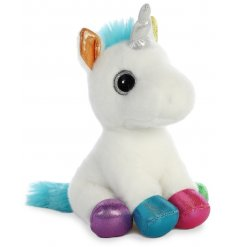 Jewel the Unicorn will be sure to make a perfect cuddle companion for any little one