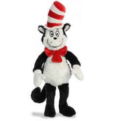 Part of our new range of Dr Seuss themed soft toys is the wonderfully Mischievous Cat In The Hat Soft Toy