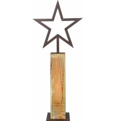 A stylishly simple standing decoration, suitable for any Rustic Living inspired home decor