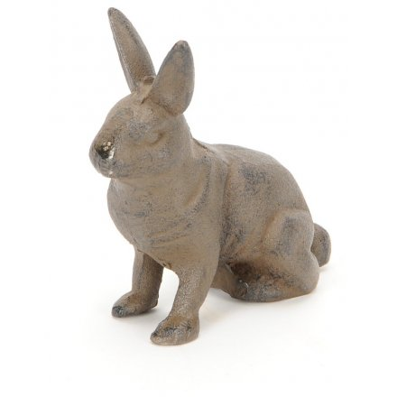 Iron Hare With Distressed Features, 11cm