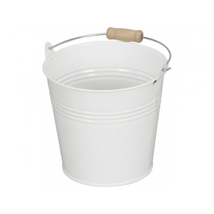 White Bucket, 13cm