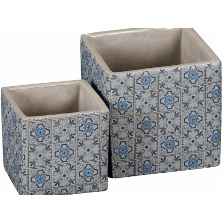 Decorative Square Planters