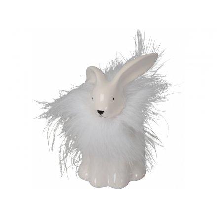 Feather Collar Bunny
