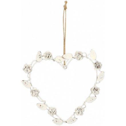 Heart Rose Hanger