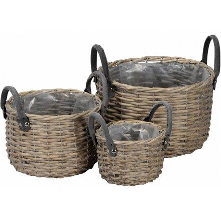 Woven Baskets, Set 3