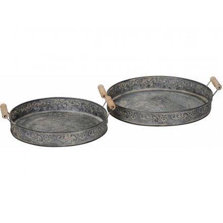 Metal Trays, Set 2