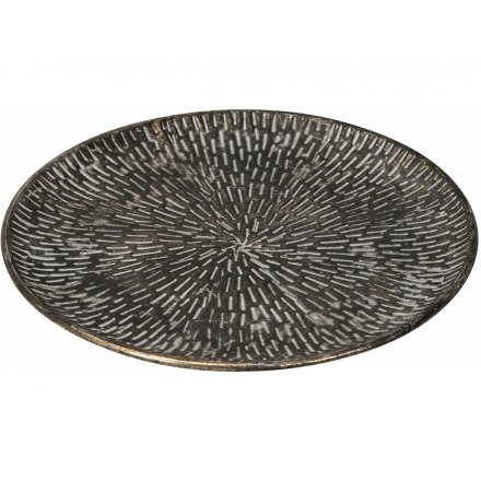 Patterned Plate, 33cm