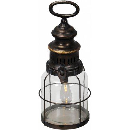 Retro Lamp Metal 31cm