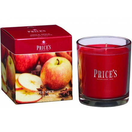Prices Boxed Candle - Apple Spice