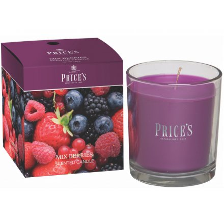 Prices Boxed Candle - Mixed Berries