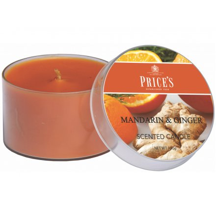 Mandarin & Ginger Candle by Prices