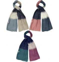 These scarves make a gorgeous gift item and fashion accessory this season.