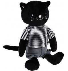 A sweet and cuddly cat soft toy, made from the snuggliest fur and filled with the most huggable stuffing