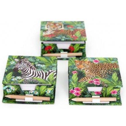 sa0029 safari memo pencil set 42400 stationery crafts wrap