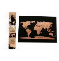 Explore the world with this stylish A4 scratch map which comes packaged in a stylish tube.
