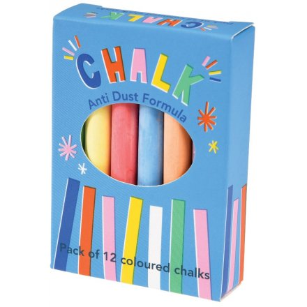 Packaged in a fun and colourful themed box, this pack of drawing chalk will be sure to entertain little ones