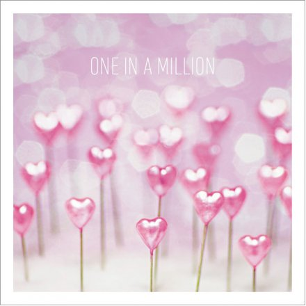 Pretty Pink One In A Million Greeting Card