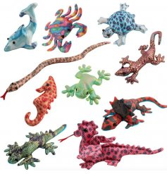 A fun and colourful assortment of popular Sandimal toys