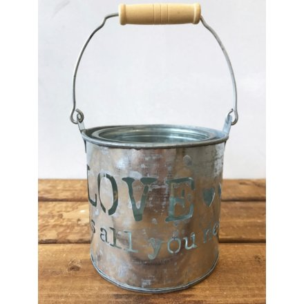Love Metal Pot, 10cm