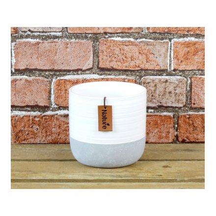 Ceramic Pot, 13cm