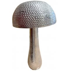 A stylish and unique decorative mushroom ornament. An on trend decorative accessory and gift item.