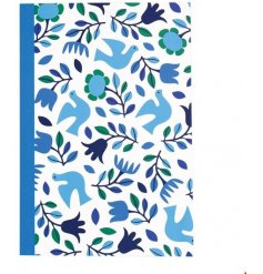 This beautifully decorated folk doves notebook is perfect for journalling and note making. A chic gift item.