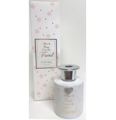 Always my Nan, Forever my friend. A chic sentiments reed diffuser from the popular Mad Dots range.