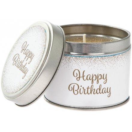 LP42791 Happy Birthday Candle