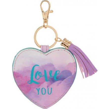 Slogan Key Ring, Love