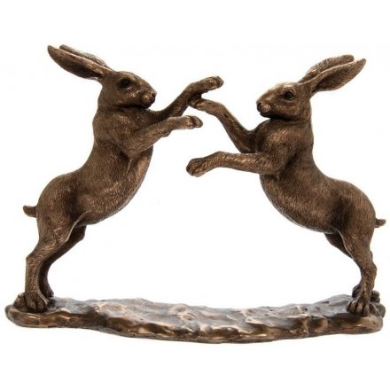 Bronzed Reflections, Twin Hares