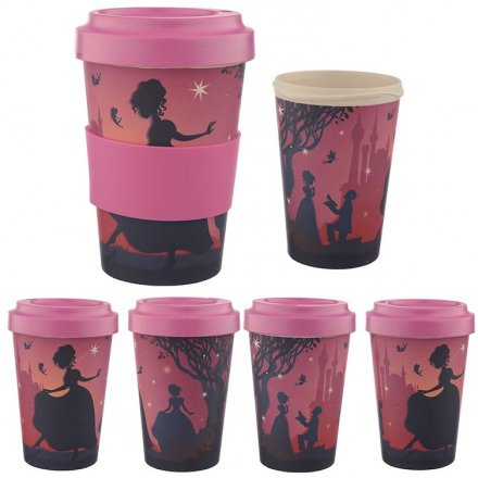 Enchanted Kingdoms Bamboo Travel Mug